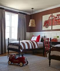wainscoting ideas bedroom kids traditional with fire truck herringbone rug herringbone rug