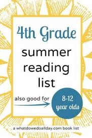 4th grade summer reading list books for kids 8 to 12 years old