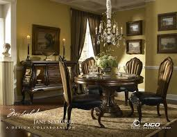 round table formal dining room