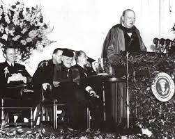 Billedresultat for 1946 cold war iron curtain