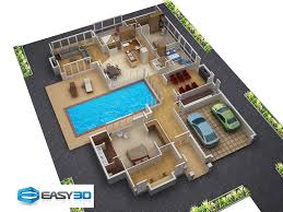 3d floor plans for new homes architectural house plan awesome 3d floor plan free home design