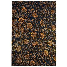 brown fl area rugs flowers a black and gold fl area rug by flowers a black and gold fl area rug by for tayse rugs capri brown fl area rug