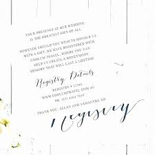 baby shower registry cards template free free wedding registry card template design template example