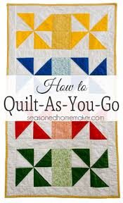 Best 25+ Quilt as you go ideas on Pinterest | Scrap quilt patterns ... & Learn How to Quilt As You Go Adamdwight.com
