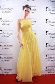 eDressit Blake Lively Gelbes Abendkleid,Tantzmode,aus Seide ...