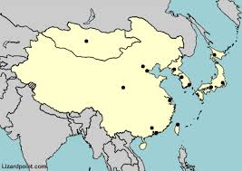 test your geography knowledge asia major cities in eastern asia Map Asia Test map of asia map of asia test