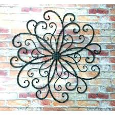 outdoor metal wall ornaments