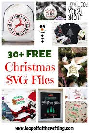 See more of cricut for dummies free svg on facebook. Free Svg Christmas Files To Make Cute Diy Projects With Leap Of Faith Crafting