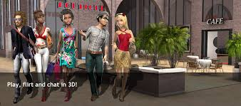 virtual world online world to play chat and flirt in 3d smeet
