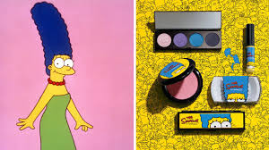check out mac s marge simpson makeup line