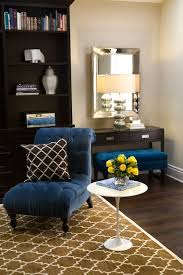 velvet tufted chair view full size royal blue chocolate brown chic living room design