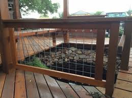 Diy Welded Wire Fence Welded Wire For Deck Railing Diy Fence