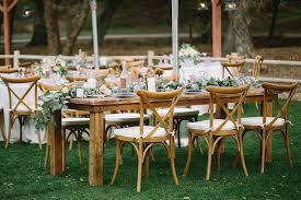 outdoor wedding furniture. simple wedding crossback chairs at garden reception inside outdoor wedding furniture