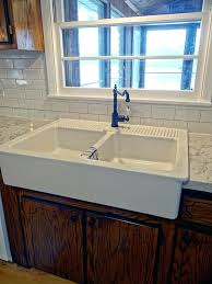 one project at a time diy blog installing an ikea domsjo sink in afaucet for d corner kitchen sink
