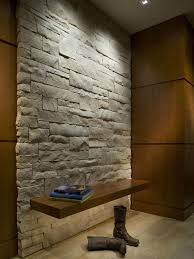stone wall lighting. fine lighting floating entry bench on white stone wall with via 186 lighting design  group houzz and stone wall