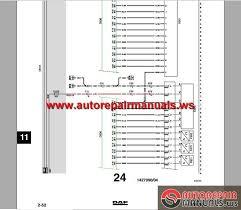daf fuse box diagram daf image wiring diagram daf lf45 lf55 electrical wiring diagram auto repair manual on daf fuse box diagram