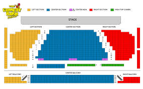 Pirates Voyage Seating Chart Resort Dinner Show Package