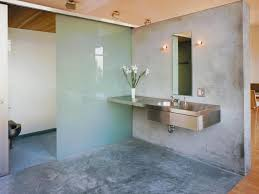concrete bathrooms. concrete bathroom - urban spaces: designer takes on modern, minimalist, and industrial looks bathrooms m