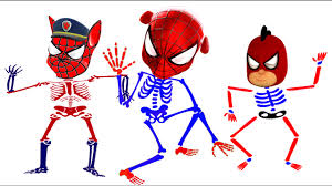 Small Picture Paw Patrol Zombie Spider Man Venom Coloring Pages For Kids