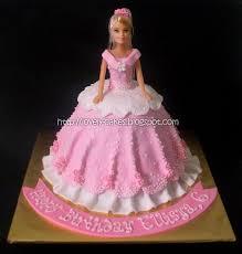 12 Doll Cakes With Fondant Photo Barbie Doll Cake Princess Doll