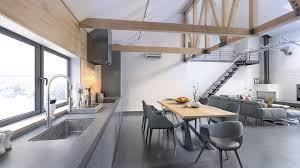 modern loft furniture. Modern Loft - Kitchen Area Furniture I