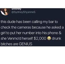 Genius Drunk Woman Stole 2000 From A Guy At A Bar And Its A