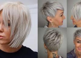 Coupe De Cheveux Moderne La Beauté De La Femme