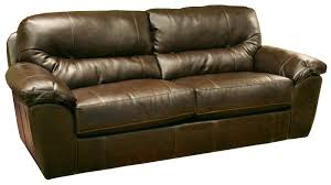 Image Wrap Around Faux Leather Casual And Comfortable Family Room Sofa Sleeper Wolf Furniture Faux Leather Casual And Comfortable Family Room Sofa Sleeper By
