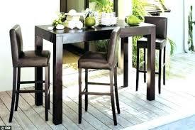 Table De Bar Haute Rectangulaire Table Haute Cuisine Table De Bar
