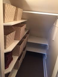 Pantry Under Stairs This Is What We Did With A Closet In Our Cape Cod House A Closet