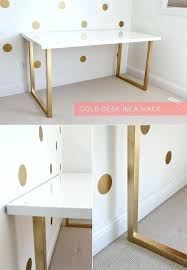 desk 15 super chic ikea hacks white wood desk with drawers uk white corner desk