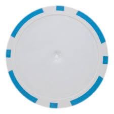 Light Blue Poker Chips 25 Light Blue Blank 8 Stripe Poker Chips
