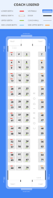 Sf Exp Chart 12688 Train Route 3082 Km Seat Availability Schedule