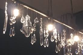 linear crystal chandelier. When Linear Crystal Chandelier A