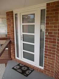 white double front door. White Front Door With Glass Warm Entry Doors Custom Double S Fiberglass And Also 6 Y
