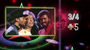 Bee Gees Chart History Night Fever Youtube