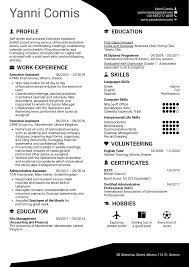 Resume Examples By Real People Executive Assistant Resume Template