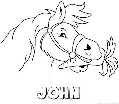 John Naam Kleurplaten