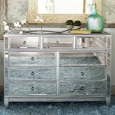 hayworth collection mirrored furniture. Charming Mirrored Chest For Home Furniture Ideas: With 9 Drawers Plus Potted Plants On Wooden Floor Interior Design Ideas Hayworth Collection E