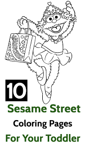 Top 10 Sesame Street Coloring Pages