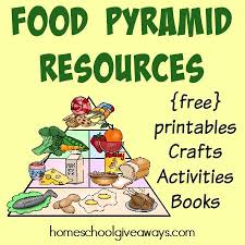 Food Pyramid Resources Free Printables Crafts