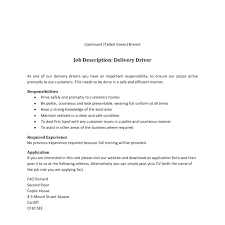 Delivery Driver Resume Template Truck Driver Resume Template 86