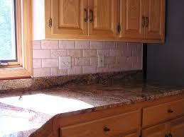 Travertine Tile For Kitchen Elegance Of Travertine Kitchen Backsplash Kitchen Designs