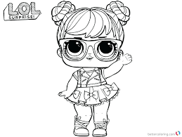 Lol Doll Coloring Pages That You Can Print Out Doll Coloring Pages