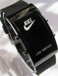 nike watch i want so bad hair beauty and fashion nike black unisex sport jelly led watch bonus 1 pc nike black