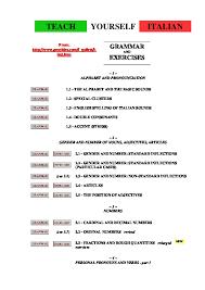 Italian Grammar Teach Yourself Italian Pon209z90l07