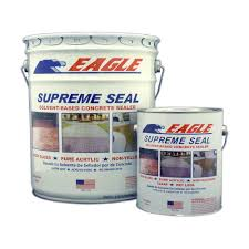 Eagle 5 gal Supreme Seal Clear High Gloss Solvent Based Acrylic