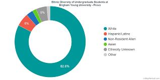Brigham Young University Provo Diversity Racial