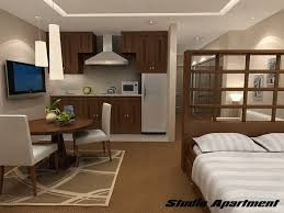 Studio Apartment Interior Design Fascinating Difference Between Studio Apartment And One Bedroom