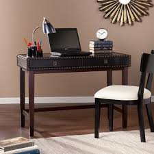 harper blvd randall black faux leather writing desk